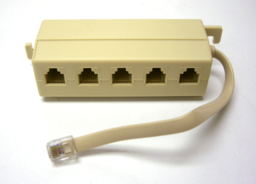 5-port Serial Adapter Cable