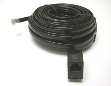 6-Conductor Sensor Extension Cable, 40 ft.