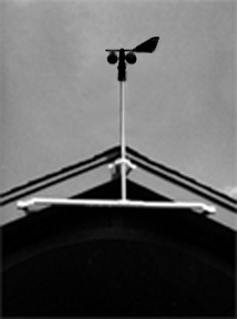 Eave-Mount Bracket for Mast