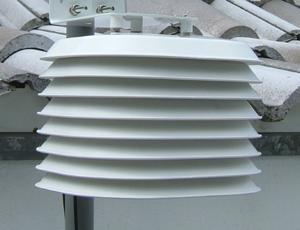 Solar Radiation Shield for Temperature Sensor