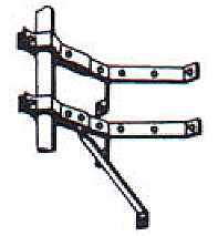 Wall-Mount Bracket for Mast
